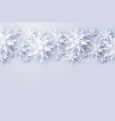 christmas and new year holidays background vector image