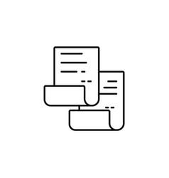 copy icon copy and paste icon replication file vector image