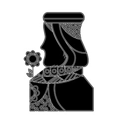 Queen french playing cards related icon icon image vector