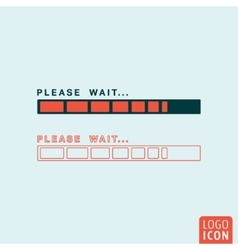 Status bar icon isolated vector