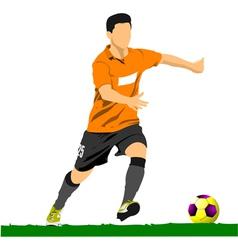 al 0249 soccer 02 vector image vector image