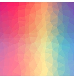Polygonal colorful background vector image