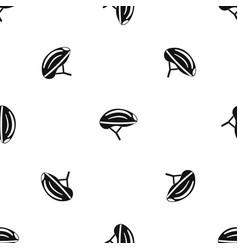 bicycle helmet pattern seamless black vector image vector image