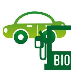 bio fuel vector image