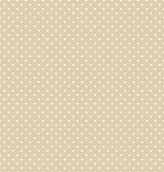 Brown Polka Dot Seamless Pattern Background vector