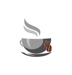 coffee logo icon design vector image