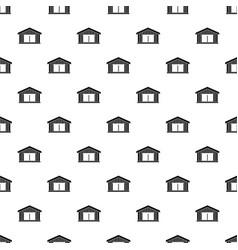 Garage pattern vector