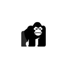 Gorilla design logo vector