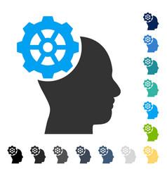 Head gear icon vector
