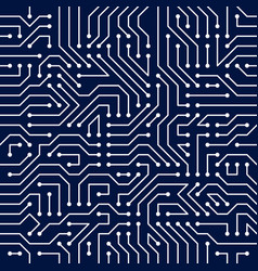 Microchip board seamless pattern background vector