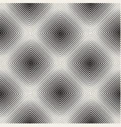 Seamless lines mosaic pattern modern stylish vector