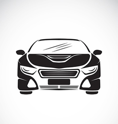 image of an car design on white background vector image