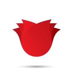 Flower icon rose logo concept vector