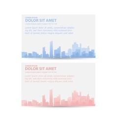 Print city vector image