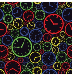 watch dial color pattern eps10 vector image vector image