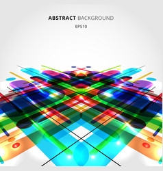 Abstract motion dynamic composition made of vector