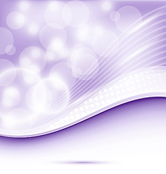 Abstract wavy purple background for design vector image