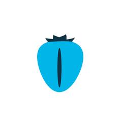 berry icon colored symbol premium quality vector image