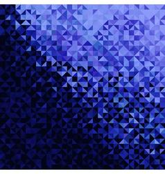 Blue Black Disco Background vector image
