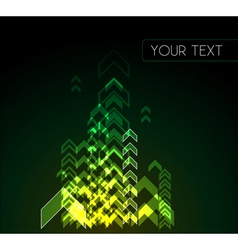 colourful abstract background vector image