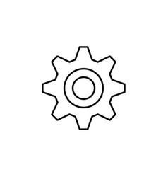 gear icon service icon maintenance icon vector image