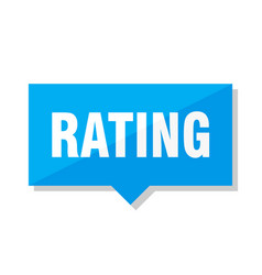 Rating price tag vector