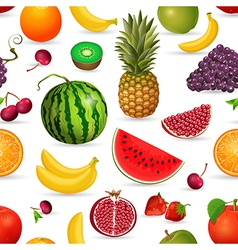 seamless texture of fruit vector image