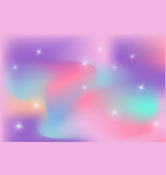 Unicorn backdrop background color gradient mesh vector