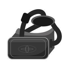 Vr glasses smart high technology vector