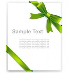 Greeting card certificate vector