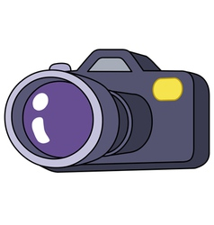 cartoon camera vector image