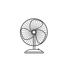 fan of electronic icon vector image