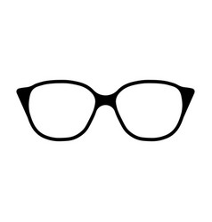 glasses icon sign vector image