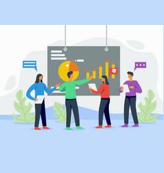 Making presentation ready concept vector