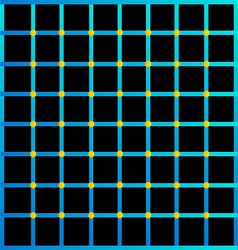 Optical with yellow dots vector image