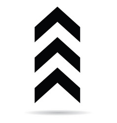 popular abstract zig zag black chevron stack vector image