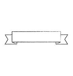 ribbon banner icon image vector image