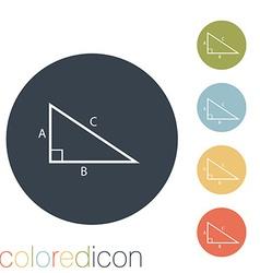 Triangle math vector