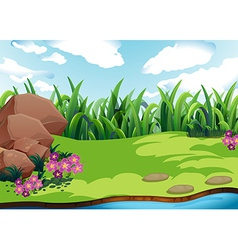 Land vector image