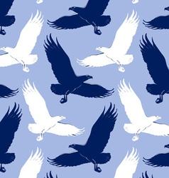 eagle background vector image