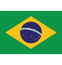 Brazil flag background Patriotic banner for vector image