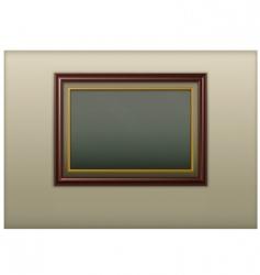 wooden framework vector image