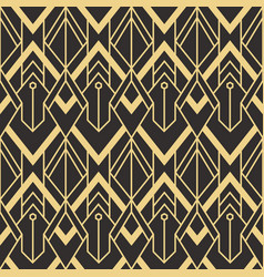 Abstract art deco pattern vector