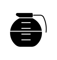 beverage drinks pot icon vector image vector image