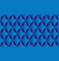 Blue abstract background seamless pattern vector