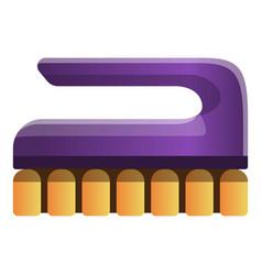 Clean hand brush icon cartoon style vector
