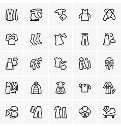 Clothes kits vector image
