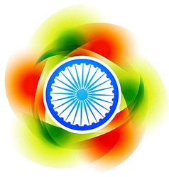 colorful indian background vector image