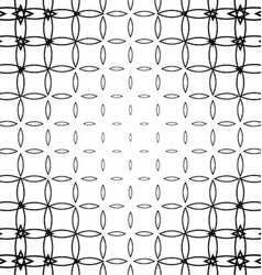 Geometric black and white pattern background vector image