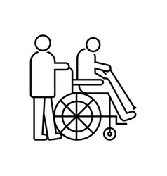Handicapped vector